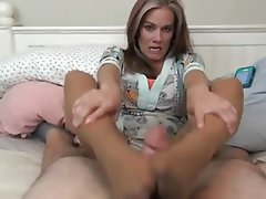 Foot Fetish, Old and Young, Stockings