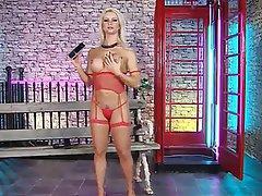 Big Boobs, Blonde, British, MILF, Stockings