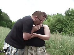 Cumshot, German, Hardcore, Old and Young, Outdoor