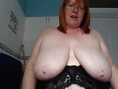 British, BBW, Big Boobs, Mature