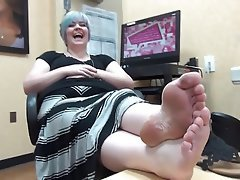 Amateur, BBW, Foot Fetish