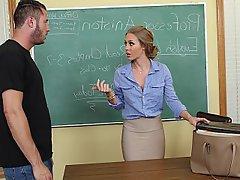 Teacher, College, Coed, Student