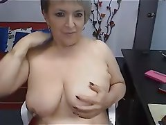 Big Boobs, Masturbation, Mature, Webcam