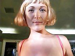 Masturbation, Blonde, MILF