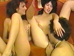 Blowjob, Handjob, Hardcore, Threesome, Vintage