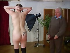 Old and Young, Spanking