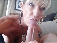 Big Boobs, Blonde, Blowjob, MILF, Webcam
