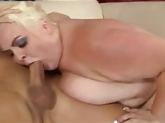 BBW, Big Boobs, Blonde, Mature